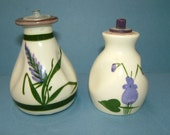 Pair of Torquay Ware Motto Ware Devon Lavender Devon Violets Scent / Perfume Bottles