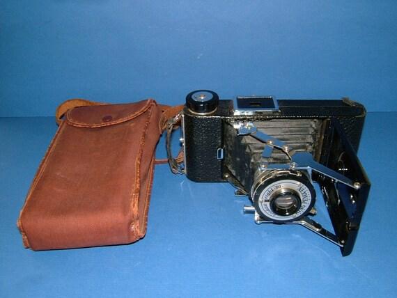 1951 Kershaw Eight - 20 King Penguin Folding Camera - Made in Soho England