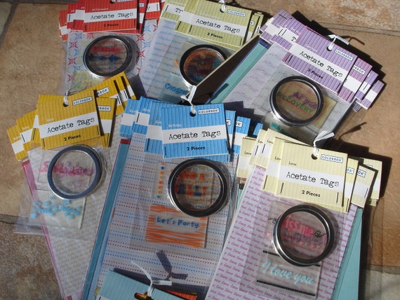Destash Clearance Cardmaking Scrapbooking Kits by Colorbok