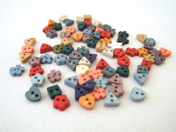Tiny itty bitty buttons variety pack