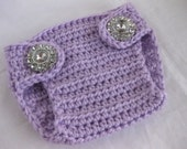 Diaper Cover, Newborn, Baby, Baby Girl, Infant, Purple, Spring, Crochet, Photo Prop, Newborn Photos