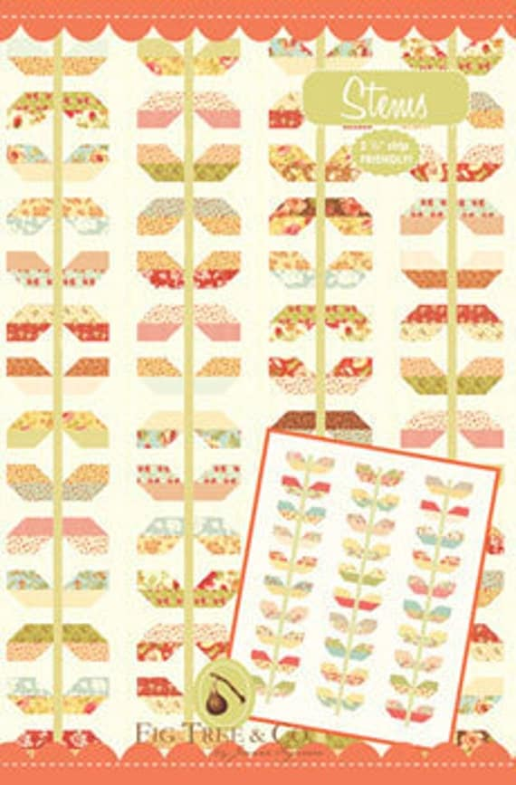 Stems quilt pattern - By Fig Tree Quilts - FT 928