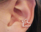Listen to Your Heart Ear Cuff
