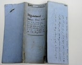 1870 English Indenture for Marriage Settlement