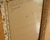 Vintage Ornate Frame with Glass