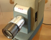 RESERVED Vintage SVE Skyline Slide Projector 300B