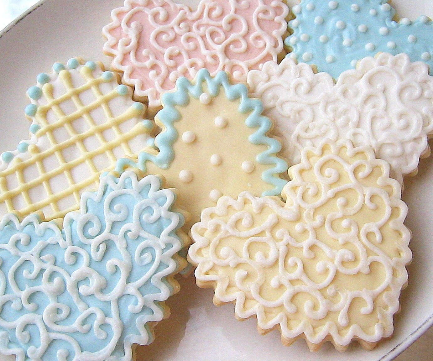 wedding sugar cookie