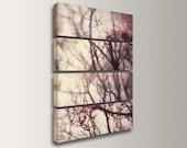 "Huge Canvas Art - Nature Photography - 4 Panel Art - Split Canvas Panels - Modern Wall Decor -  ""Autumn Whirlwind"""