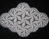 Unique Crocheted Doily - Carnival.Lovely Design