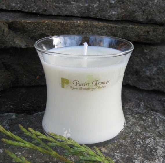 Aromatherapy Soy Candle, 100% Organic and All Natural, 11 Scents To Choose From, 3oz Interlude