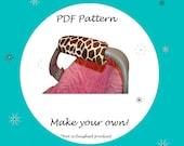 Car Seat Arm Pad Handle-Padded Arm Pad Handle Pattern-PDF Pattern-Ebook Pattern - Instant Download