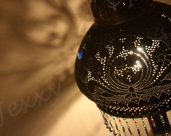 Decorative lamp, Dahab, Egypt - Original Photographic Print