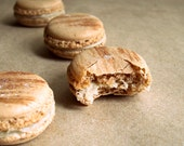 Cafe Aguni French Macarons (Coffee, Japanese Sea Salt)