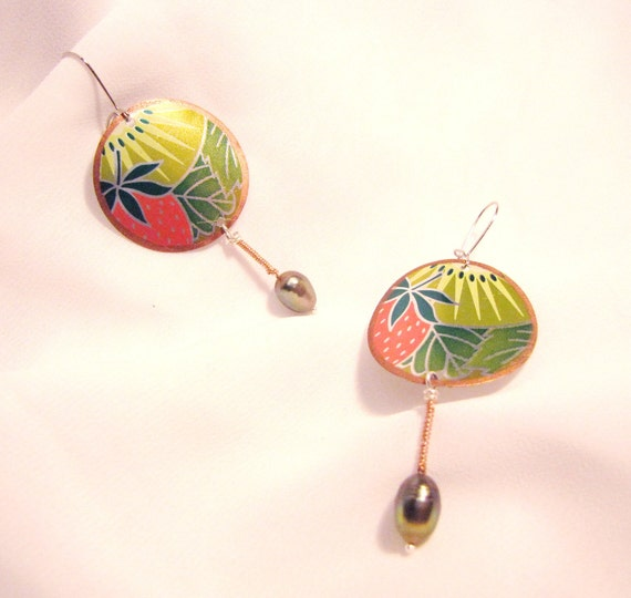 Margarita Earrings with Pearls - Affordable Gift