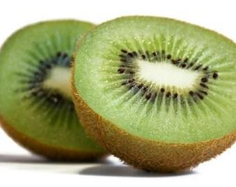 Organic Heirloom 900 Seeds KIWI Fruit Tropical Fruit Bearing Vines Edible Bulk Green Sweetest F22
