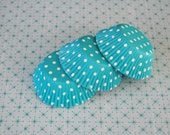 Teal Polka Dot Cupcake Liners (25)