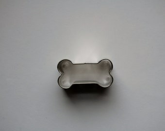 Mini Dog Bone Cookie Cutter