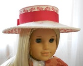 American Girl Doll Clothes - Doll Hat - Duchess Hat for Spring