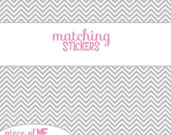 Matching Stickers