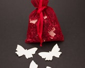 Large Porcelain Butterfly Table Confetti