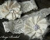 ON SALE/Set) Silk garters