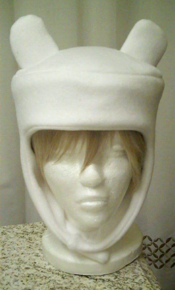 Adventure Time -- Finn Hat (ready to be shipped)