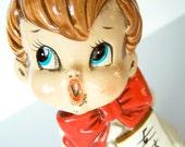 Vintage Christmas Caroler Japan Figurine