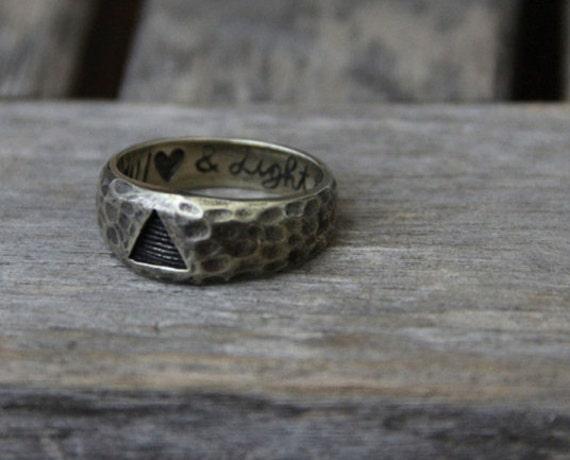 Sacred Shapes ring