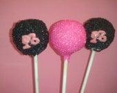 Barbie cake pops