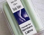 northern.lights body balm solid lotion massage bar