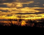 On Sale 8x10 Photography Vibrant Skies Series Sunset Number 1 Wall Art Print