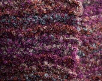Lose-Knit, Burgundy Blend scarf