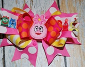 "Divalicious ""Foofa""   Inspired Boutique Style Hairbow"