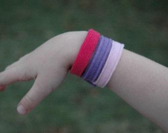 Eco Felt Wrist Cuff - Matches princess crowns
