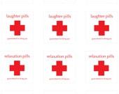 Happy Pill Labels