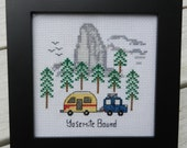 "PDF PATTERN ""Yosemite Bound"" - Counted Cross Stitch"