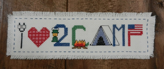 Camp Cross Stitch - I Love 2 Camp