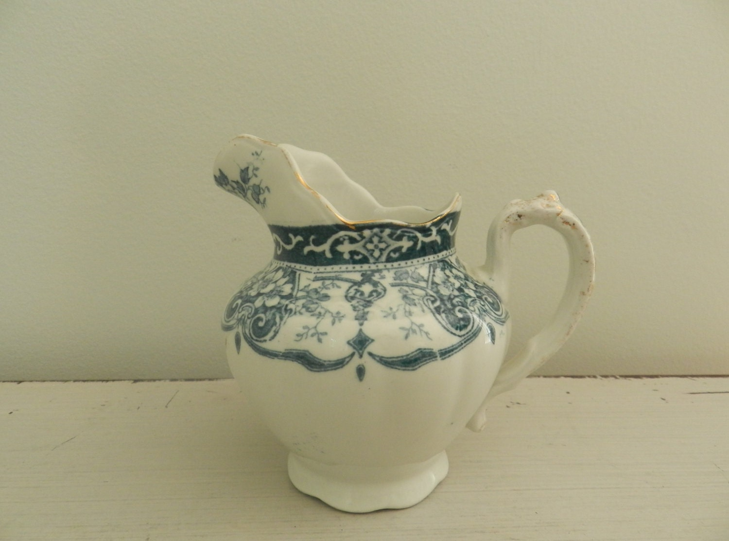 Antique English Pottery F Winkle And Company Stoke By