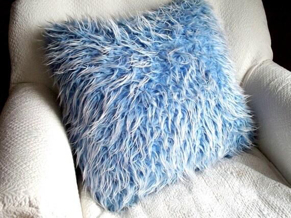 Furry fun pillow