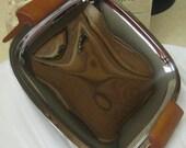Butterscotch Bakelite & Chrome tray