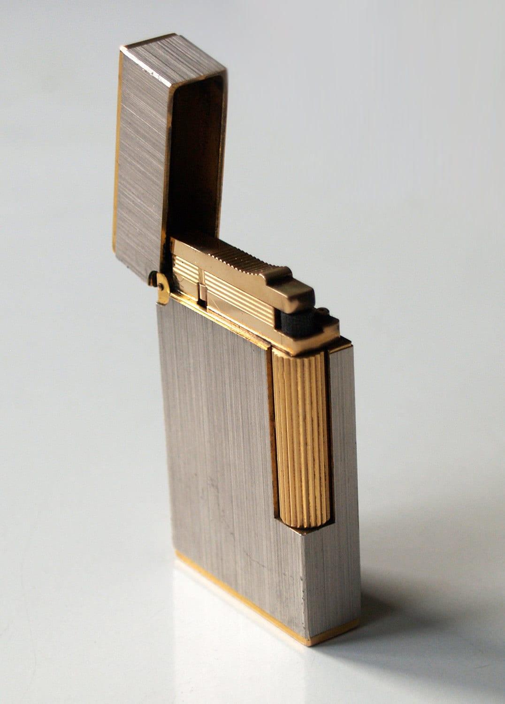 S T Dupont Lighter Made In Paris France Vintage By