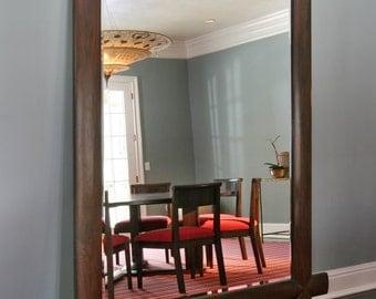 Large Wood Mirror -Black Walnut 5' x 7'