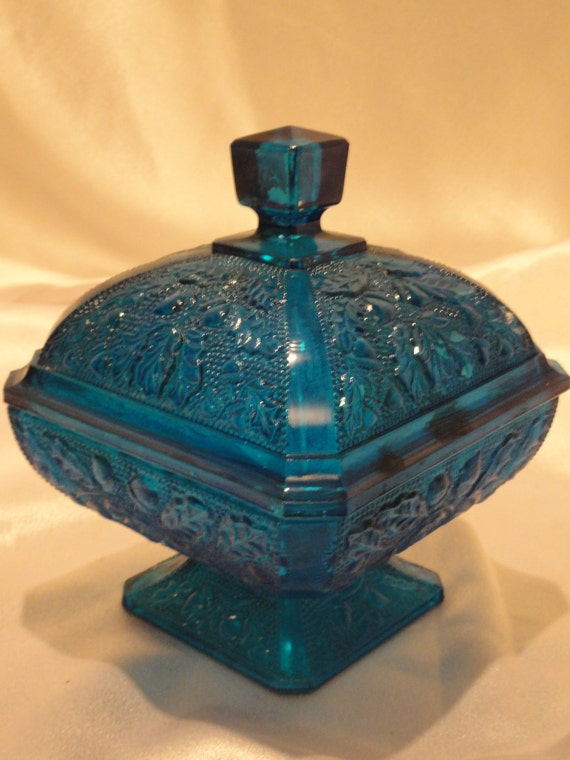 Aqua Blue Depression Glass