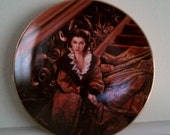 """Gone With the Wind Original Limited Edition Plate """"Waiting for Rhett"""" Hold for Sue"""