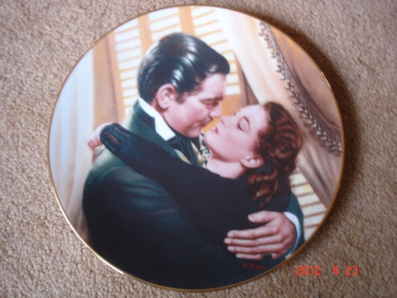 Gone With the Wind Original Limited Edition Plate
