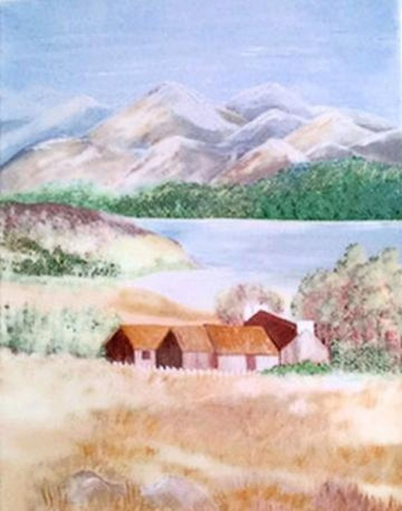 """Rocky Mountain High 11x14"""" Painting"""