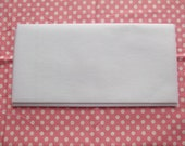 Fusible Interfacing with clear instructions on usage provided - Good for beginners