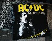 AC/DC Decorative Throw Pillow