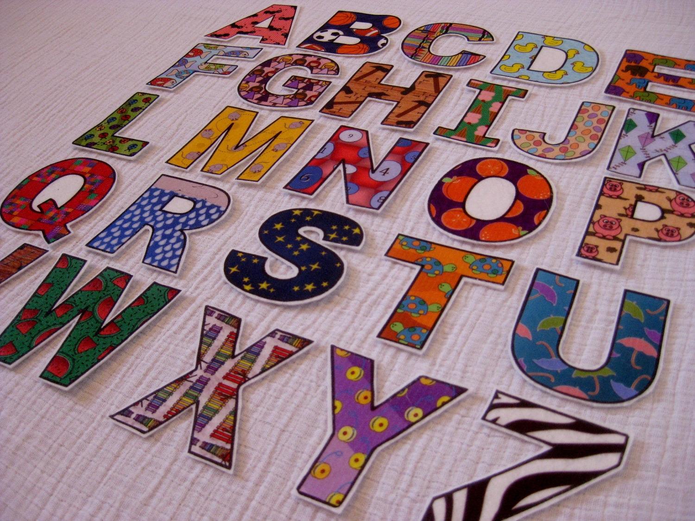 PDF ABC Alphabet Amp Number Fridge Magnets Cut Outs Felt