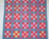 Vintage 9 Patch Quilt